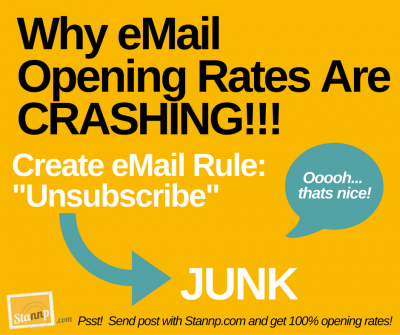 eMail Opening Rates Are CRASHING!